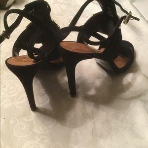 Vince Camuto Shoes - Vince Camuto blk suede evening shoes 10